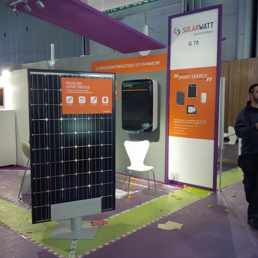 Solarwatt stand 1